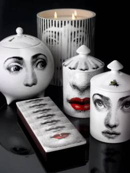 L'ape Otto Scented Candle With Lid Fornasetti 69IWUZ002-V0hJVEUvQkxBQ0s1