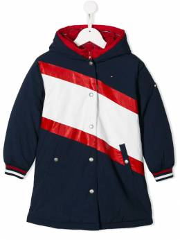 Tommy Hilfiger Junior - colour block padded coat KG655639506999300000