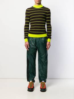 Acne Studios - striped knitted jumper 68095639358000000000