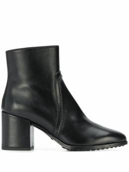 Tod's - piped zip-up boots 83B6BO36MIDB99995988