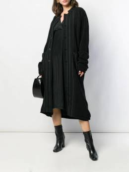 Uma Wang - striped midi coat 533O86A9950065060000