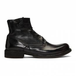 Officine Creative Black Ikon Boots 192346M25500204GB