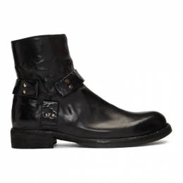 Officine Creative Black Ikon 055 Boots 192346M22800107GB