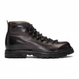Officine Creative Black Kontra 003 Boots 192346M25500804GB