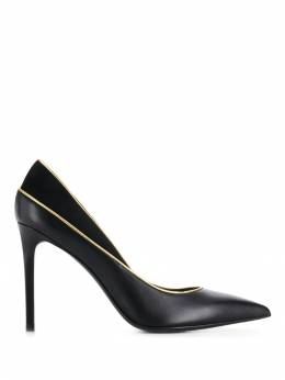 Balmain - classic pointed toe pumps C995LGKN959960350000