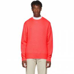 Acne Studios Pink Wool and Cashmere Peele Sweater 192129M20101704GB