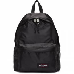 Eastpak Black Satin Padded Pakr Backpack 192132M16601601GB