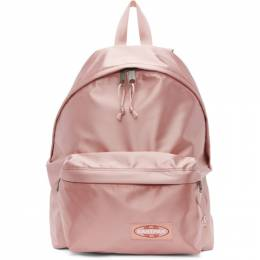 Eastpak Pink Satin Padded Pakr Backpack 192132M16603801GB