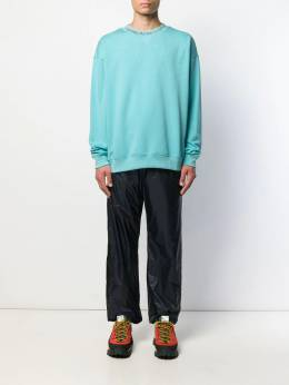Acne Studios - knitted collar jumper 69595639586000000000
