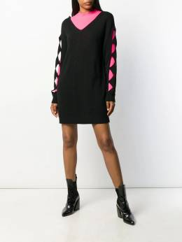 Boutique Moschino - cur-out sleeve dress 96696995990690000000