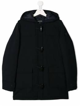 Emporio Armani Kids - hooded duffle coat L605NGVZ950030560000