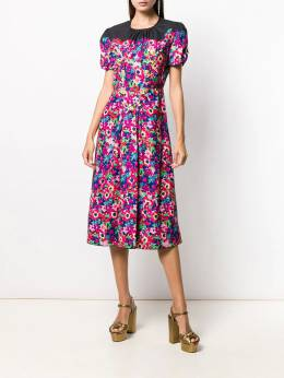 Marc Jacobs - printed midi dress 63965660959986950000