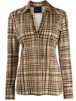 Erika Cavallini - checked print shirt 56095033639000000000