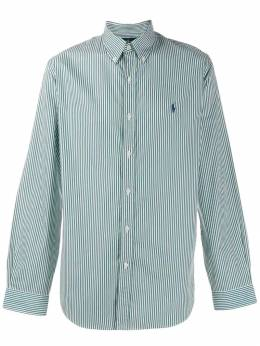 Ralph Lauren - striped logo shirt 36333695036556000000