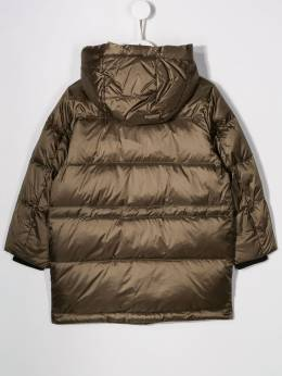 Emporio Armani Kids - hooded puffer coat L395NGYZ658095036533