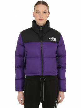 Womens Nuptse Cropped Down Jacket The North Face 70IDOM002-TjVO0