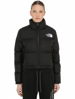 Womens Nuptse Cropped Down Jacket The North Face 70IDOM002-Sksz0