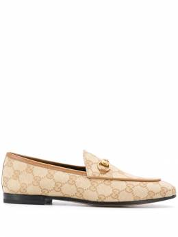 Gucci - Jordaan GG canvas loafers 563KY986950539630000