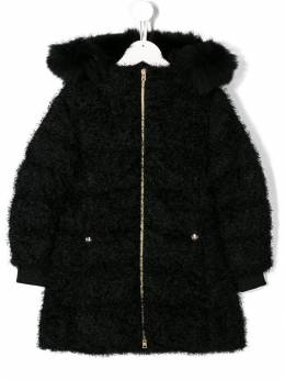 Herno Kids - hooded faux-fur coat 636G9006695003098000