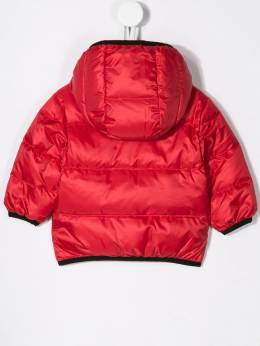 Dsquared2 Kids - logo zipped padded coat 3LRD66WQ950306590000