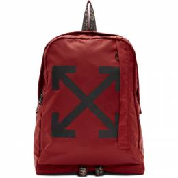 Off-White Red Easy Backpack 192607F04200801GB