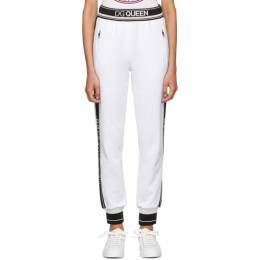Dolce & Gabbana White Queen Lounge Pants 192003F08600303GB