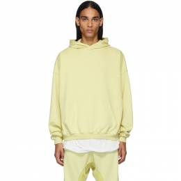 Haider Ackermann Yellow Perth Hoodie 192542M20200105GB