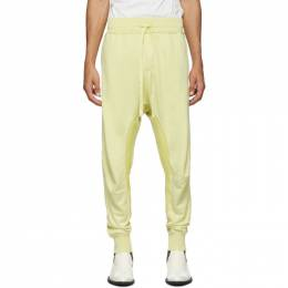 Haider Ackermann Yellow Perth Moonshape Lounge Pants 192542M19000105GB