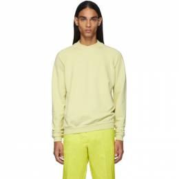 Haider Ackermann Yellow Dye Perth Sweatshirt 192542M20100401GB