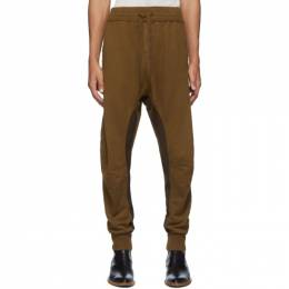 Haider Ackermann Brown Perth Moonshape Lounge Pants 192542M19000202GB