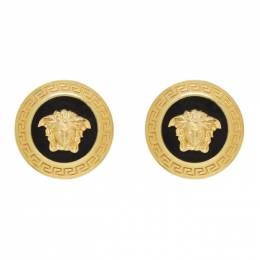 Versace Gold Large Icon Medusa Earrings 192404F02202301GB