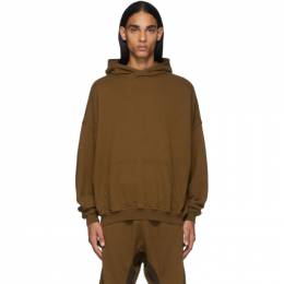 Haider Ackermann Brown Perth Hoodie 192542M20200404GB