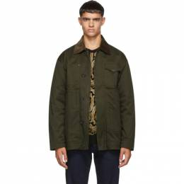 Dsquared2 Green Kaban Jacket 192148M18000105GB