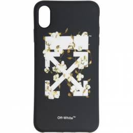 Off-White Black Cotton Arrows iPhone XS Case 192607F03200801GB