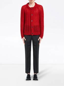 Prada - ribbed knitted cardigan 906S9909UZ6950663060