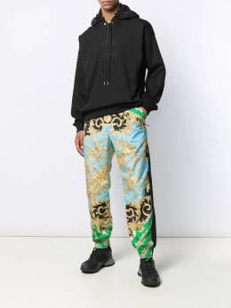 Versace - Medusa embroidered hoodie 599A0089569503608500