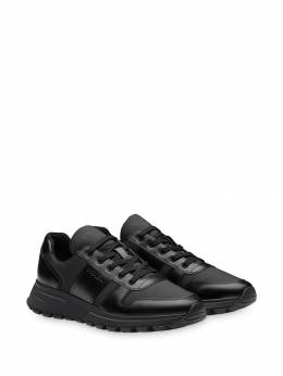 Prada - brushed effect sneakers 5633KYU9505939300000