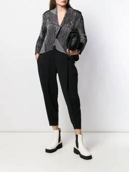 Issey Miyake - tapered cropped trousers 8KF39095039885000000