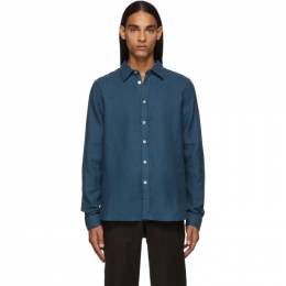 Ps by Paul Smith Blue Tailored Shirt 192422M19200903GB