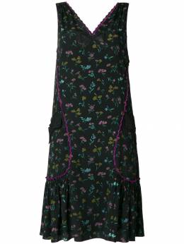 Coach - floral print pleated dress 39909995050000000000