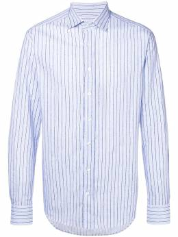 Etro - stitched striped print shirt 68360093953083000000