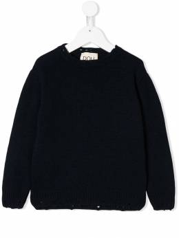 Douuod Kids - ripped knitted jumper 606GKO93053399000000