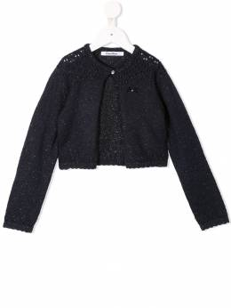 Familiar - sparkle knit cardigan 95693933556000000000