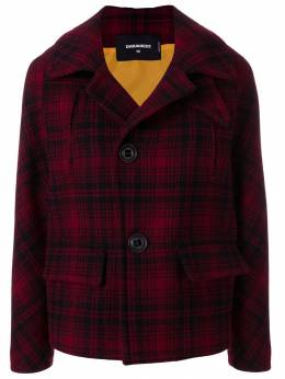Dsquared2 - checked buttoned jacket AM6583S5890990368856