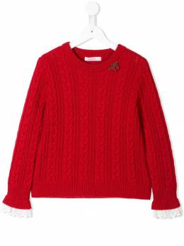 Familiar - cable knit sweater 35093969553000000000