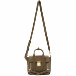 3.1 Phillip Lim Brown Mini Pashli Bag 192283F04702101GB
