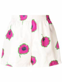 La Doublej - floral fitted shorts 6666SIL669PAP6669908