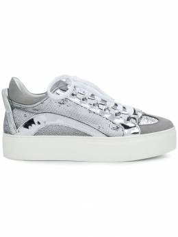 Dsquared2 - platform sequined sneakers 66633366683093668303