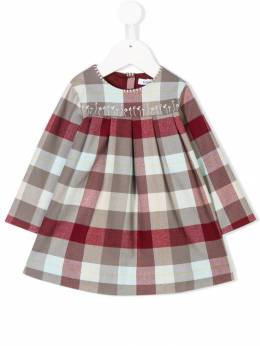 Knot - Jul embroidered check dress 9CE03509305930300000