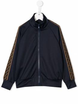 Fendi Kids - logo tape bomber jacket 660A69D9596355800000